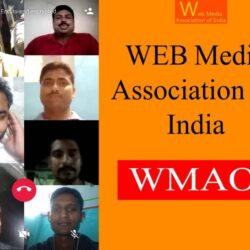 Web Media Association of India online Meeting 30 May 2021
