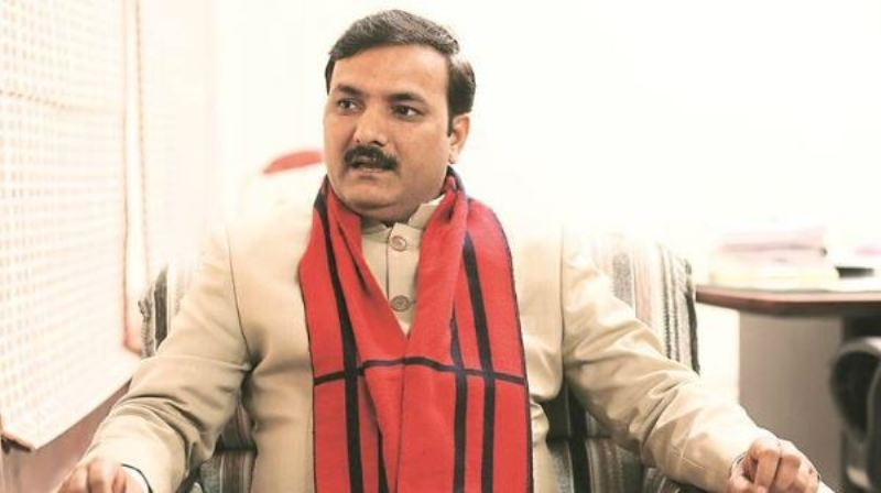 Satish Chandra Dwivedi Minister of Uttar Pradesh (Independent Charge) for Primary education. (फाइल फोटो)