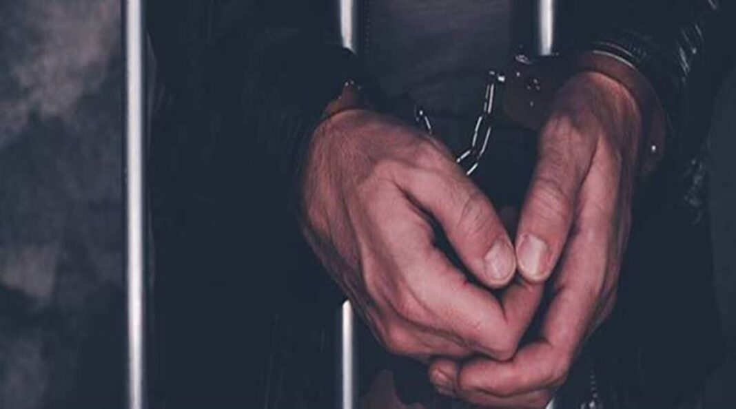 The two men arrested were identified as Luv Vikram Singh alias Jaynu Thakur, and Aman Gupta, who owns the printing press where the posters were allegedly printed.